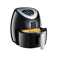 Tidylife 4.5 QT Air Fryer, 1500W 8 in 1 One-Touch Cooking 180-400 ℉ Fast Cooking - AF-11A (OPEN BOX)