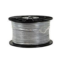 Monoprice Cat3 Ethernet Bulk Cable - Flat,Stranded, UTP, Pure Bare Copper Wire, 26AWG, 1000ft, Silver (Open Box)