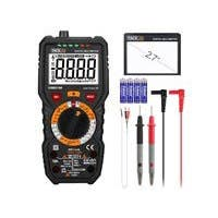 Tacklife DM01M Advanced Digital Multimeter Trms 6000 Counts Tester Non Contact Voltage Detection Amp Ohm Volt Multi Meter Temperature