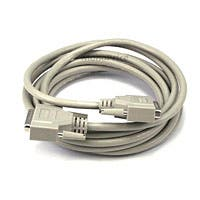 Monoprice IEEE 1284 , DB25 , M/M - 15ft
