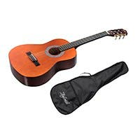 Monoprice Idyllwild 3/4 Classical Guitar with Gig Bag, Natural (Open Box)