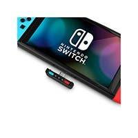 HomeSpot Bluetooth Audio Transmitter Adapter For Nintendo Switch (Blue & Red) (open box)