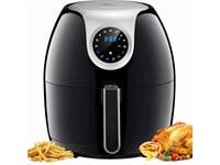 Tidylife Air Fryer, 6.3 QT Air Fryer XL with LCD Digital Touchscreen, 1700W Electric Hot Air Fryer (refurbished)