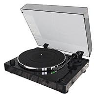 Monolith by Monoprice Turntable with Audio-Technica AT100E Cartridge (Open Box)