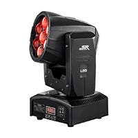 Stage Right by Monoprice Stage Wash 12 Watt x 7 LED Moving Head (RGBW) with Zoom (Open Box)