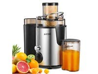 Aicok Juice Extractor with Wide Mouth, 3 Speed Centrifugal Juicer for Fruit and Vegetable, BPA Free (refurbished)