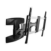 Monoprice Full-Motion Articulating TV Wall Mount Bracket For TVs 37in to 70in, Max Weight 99lbs, Extension Range of 2.1in to 17.6in, VESA Patterns Up to 600x400, UL Certified (OPEN BOX)