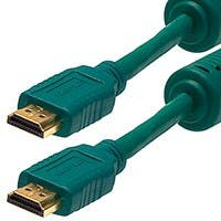 Monoprice Select Series High Speed HDMI Cable - 4K@24Hz, 10.2Gbps, 28AWG, 3ft, Green