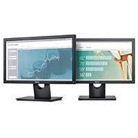 "Dell E1916H Black 18.5"" 5ms 60HZ TN Widescreen LED LCD Monitor with VESA-Mount Compatibility/Tilt Options, Eco-Conscious Design, VGA/DP Connectivity (open box)"
