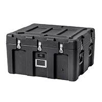 Pure Outdoor by Monoprice Stackable Rotomolded Weatherproof Case, 31 x 26 x 18 inches, Black (Open Box)