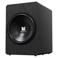 "Monolith by Monoprice M10-S 10"" THX Certified Sealed 500 Watt Powered Subwoofer (Open Box)"