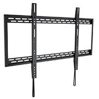 Monoprice Stable Series Fixed TV Wall Mount Bracket for TVs 60in to 100in, Max Weight 220 lbs, VESA Patterns Up to 900x600, Works with Concrete & Brick, UL Certified (open box)