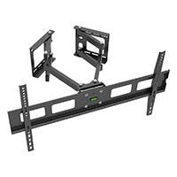 Monoprice Cornerstone Series Full-Motion Articulating TV Wall Mount Bracket For TVs 37in to 63in, Max Weight 132lbs, VESA Patterns Up to 800x400 (open box)