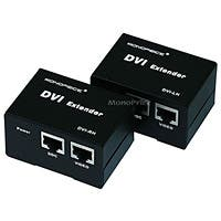 Monoprice DVI Extender using Cat5e cable extending upto 50 Meter, Supporting DDC & HDCP