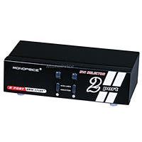 2X1 Enhanced Powered DVI Switcher