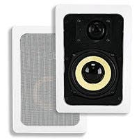 Caliber In-Wall Speakers, 5.25in Fiber 2-Way (pair)