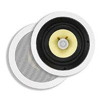 Monoprice Caliber In-Ceiling Speakers, 6.5in Fiber 2-Way (pair)