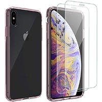 "Screen Protector Designed for Apple iPhone 11 Pro Max, iPhone XS Max (6.5"" 2018) Tempered Glass Screen Protector 2 packs"