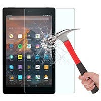 Screen Protector for All-New Fire HD 8 (2018/2017/2016 Release), Tempered Glass/HD / 9H Hardness 2 packs