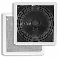 Monoprice Aria In-Wall Speaker, 10in Passive Subwoofer, 200 watts max (single)