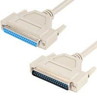 Monoprice 6ft DB37 M/F Molded Cable