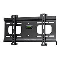 Monoprice Ultra-Slim Fixed TV Wall Mount Bracket - For TVs 32in to 55in, Max Weight 165 lbs, VESA Patterns Up to 400x200, Security Brackets, Works with Concrete & Brick
