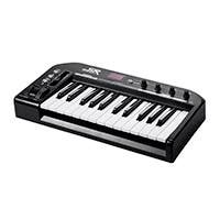 Stage Right by Monoprice 25-Key MIDI Keyboard Controller, Black
