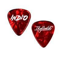 Stage Right by Monoprice Light Guitar Picks 0.50mm, 12-pack, Red