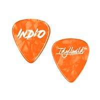 Stage Right by Monoprice Medium Guitar Picks 0.71mm, 12-pack, Orange