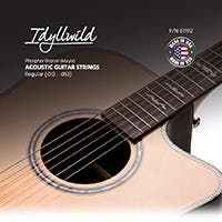 Monoprice Idyllwild Phosphorus Bronze Acoustic Guitar String Set Made in America Regular (.012-.053)