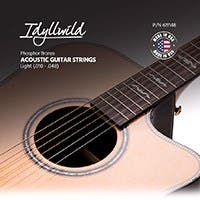 Monoprice Idyllwild Phosphorus Bronze Acoustic Guitar String Set Made in America Light (.010-.048)