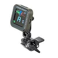 Stage Right Rechargeable Chromatic Clip-on Guitar Tuner
