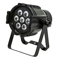 Stage Right Bright, 8-watt x 7 LED PAR-575 Stage Light (RGBW)