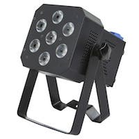 Stage Right Super-Bright, 12-watt x 7 LED PAR Stage Light (RGBAW-UV)