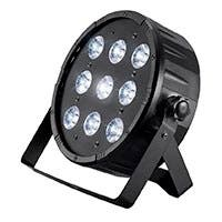 Stage Right by Monoprice 10-watt x 9 LED Flat PAR Stage Light (RGBW)