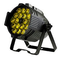 Stage Right by Monoprice Stage Wash 18 Watt x 18 LED PAR Stage Light (RGBWA-UV)