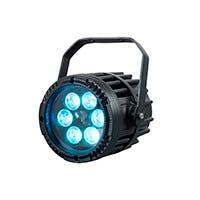 Stage Right by Monoprice IR Outdoor Mini PAR 3 Watt x 6 LED (RGB)