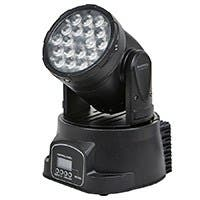 Stage Right by Monoprice 3-Color LED Moving Head Stage Light