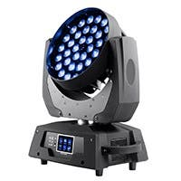 Stage Right by Monoprice Stage Wash 10 Watt x 36 LED Moving Head (RGBW) with Zoom