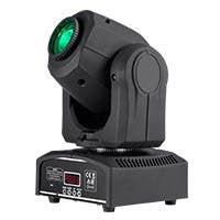 Stage Right by Monoprice Stage Beam 30 Watt LED Moving Head Light with 7 Colors and Gobos plus Open