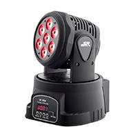 Stage Right by Monoprice Stage Wash 7 x 10W LED Moving Head (RGBW)