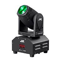Stage Right by Monoprice Party 10W Mini Beam Moving Head LED Light