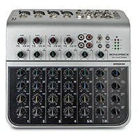 8-Channel Audio Mixer with USB