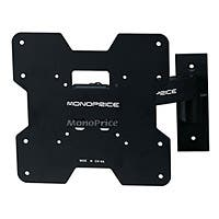 Monoprice Titan Series Full Motion TV Wall Mount Bracket - For TVs 24in to 37in, Max Weight 80lbs, Extension Range of 3.2in to 9.7in, VESA Patterns Up to 200x200
