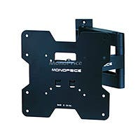 Monoprice Titan Series Tilt TV Wall Mount Bracket - For TVs 20in to 42in, Max Weight 80lbs, Extension Range of 3.2in to 16.5in, VESA Patterns Up to 200x200