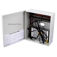 Monoprice 16 Channel CCTV Camera Power Supply - 12VDC - 10Amps