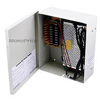 Monoprice 8 Channel CCTV Camera Power Supply - 12VDC - 13Amps