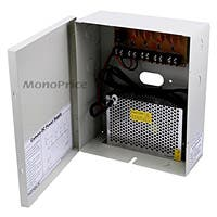 Monoprice 4 Channel CCTV Camera Power Supply - 12VDC - 5 Amps