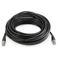 Monoprice 50ft RG/58 AU 48% Braid - Black