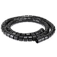 Monoprice Spiral Wrapping Bands - 30mm x 1.5m (Black)